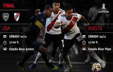 Boca y River, a cuatro días del histórico Superclásico de la Libertadores