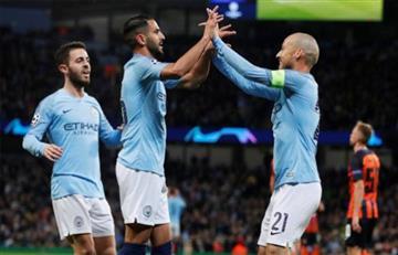 El City se copa en la Champions