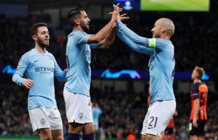 Manchester City de Agüero golea al Shakhtar por la Champions League