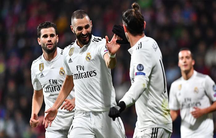 Real Madrid venció 5-0 al Viktoria Plzen (Foto: Twitter)