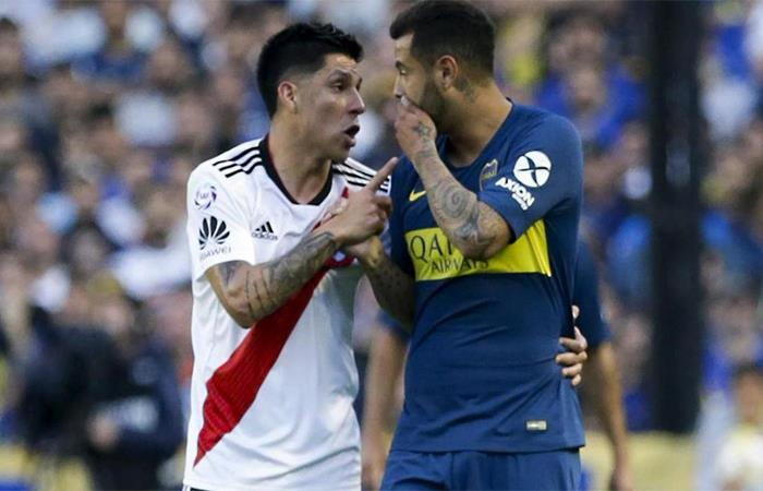 Boca Juniors vs River Plate (Foto: Twitter)