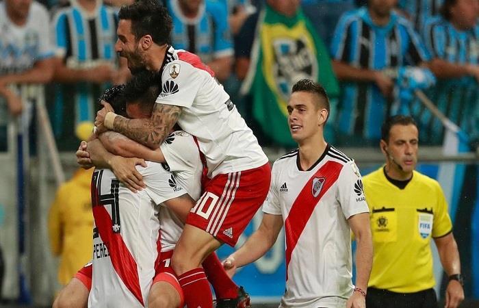 El camino de River a la final de la Libertadores. (FOTO: EFE)