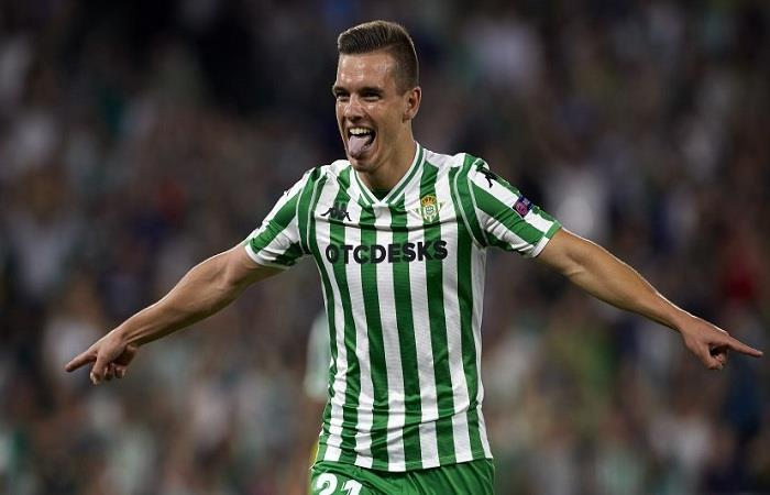 Giovani Lo Celso. (AFP)