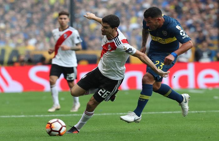 Boca Juniors igualó 2-2 ante River Plate (Foto: EFE)