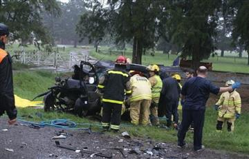 Fallecen en accidente de tráfico 4 hinchas de Boca que iban a final ante River