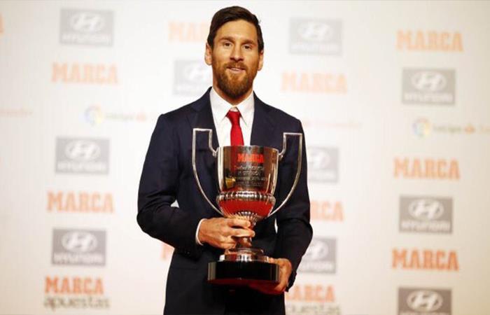 Lionel Messi es elegido como el jugador más valioso de la Liga