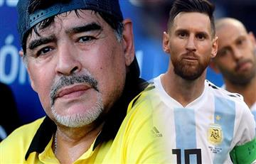De Maradona para Messi