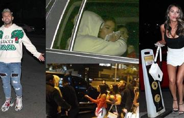El 'Kun' se divirtió con cuatro mujeres en Los Ángeles