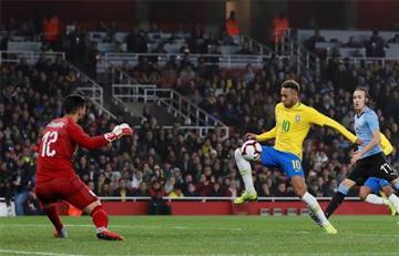 Brasil gana con un gol de Neymar