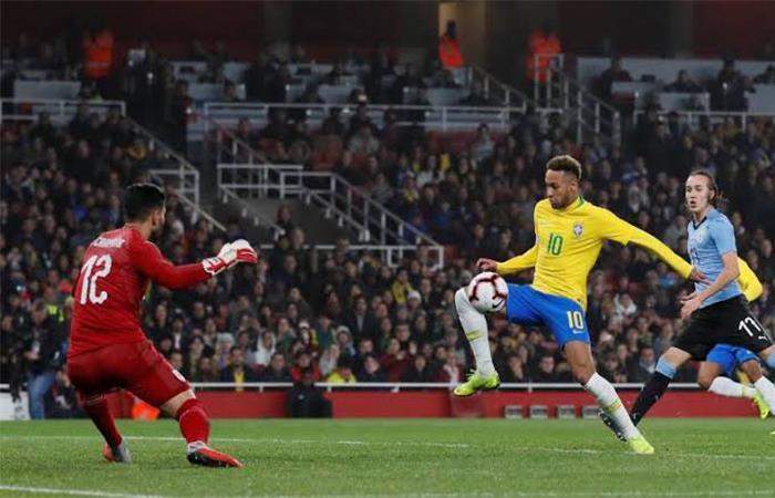 Brasil venció 1-0 a Uruguay (Foto: Twitter)