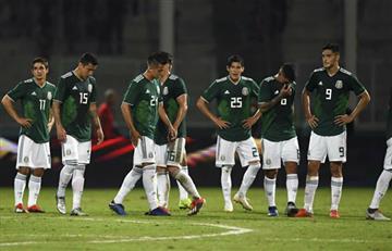 México pierde cuatro jugadores