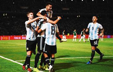 Argentina vs México: mirá los goles de la 'albiceleste'