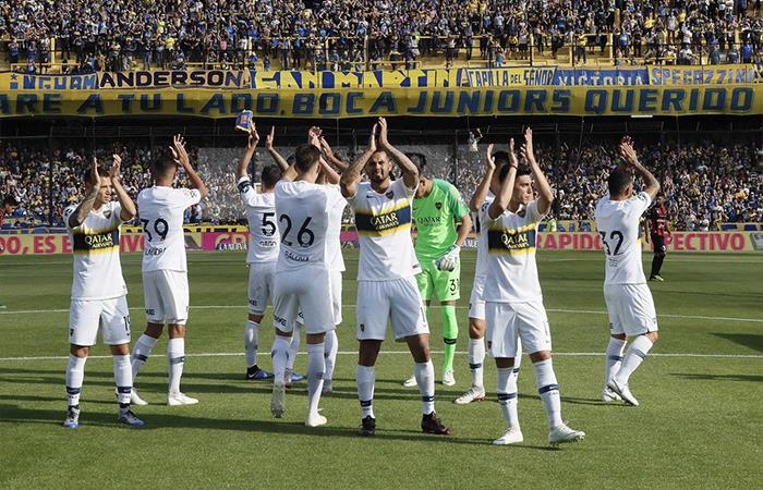 Boca Juniors venció 1-0 a Patronato (Foto: Twitter)