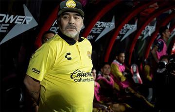 Diego Maradona es suspendido y no estará en cuartos con su equipo