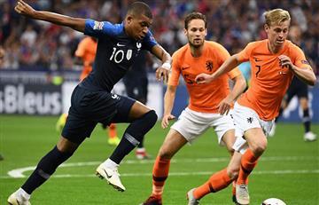 Francia cae ante Holanda y consigue su primera derrota después del mundial