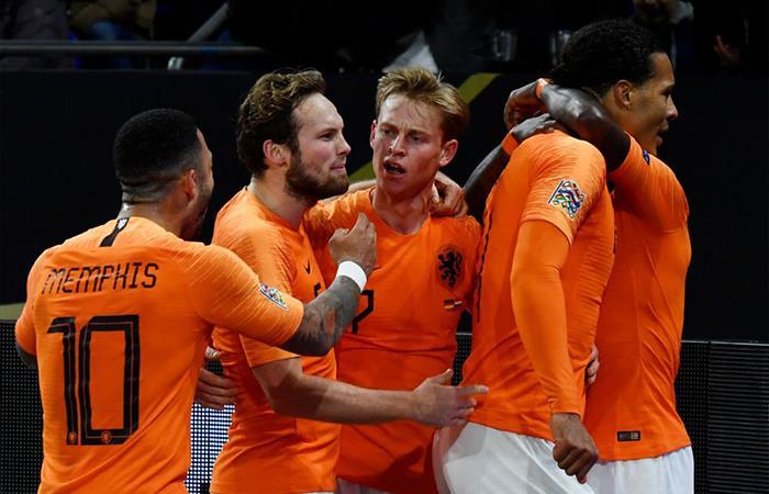 Alemania iguala 2-2 ante Holanda (Foto: Twitter)