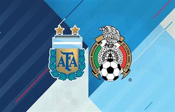 La TV del Argentina vs México