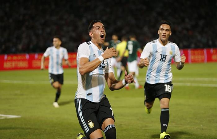 Argentina vs México (Foto: Twitter)