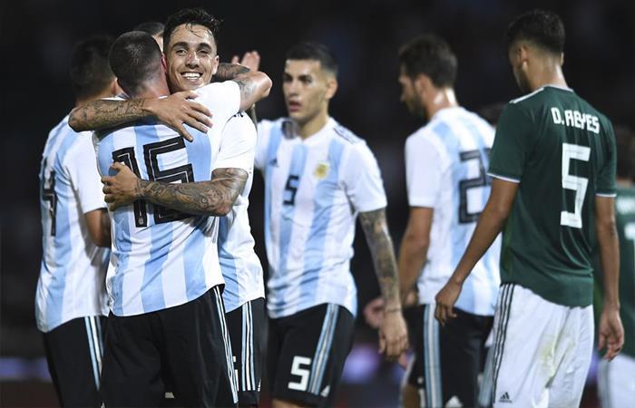 Argentina vs México: donde ver el partido