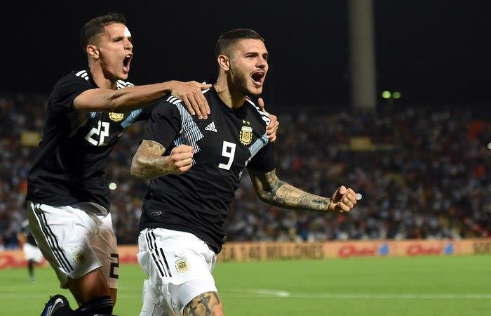 Argentina vence 2-0 a México (Foto: EFE)