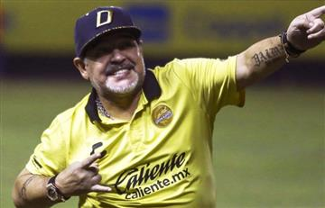 Diego Maradona no ve con bueno ojos a Lionel Scaloni en la Argentina