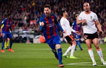Messi verdugo del Atlético de Madrid