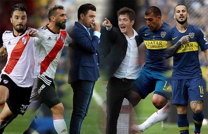 River Plate vs Boca Juniors. Foto: Twitter