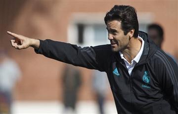 Solari, feliz con el Real Madrid