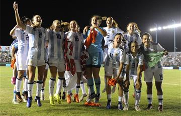 El pedido de fútbol femenino