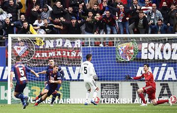 Real Madrid cae ante el Eibar