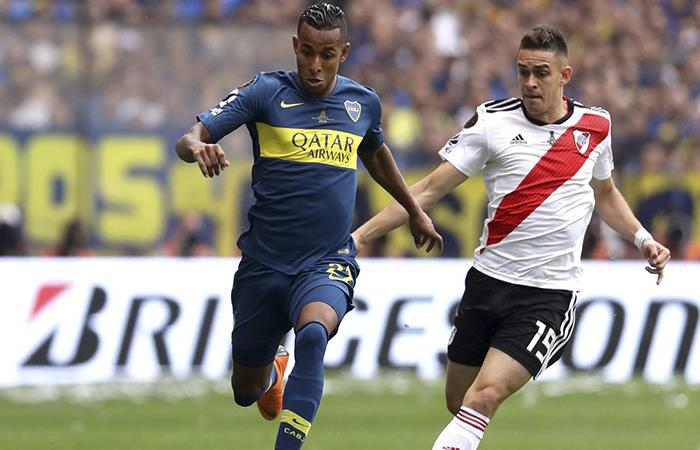 River Plate vs Boca Juniors. Foto: Twitter