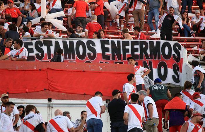 Hinchas de River Plate (Foto: Twitter)