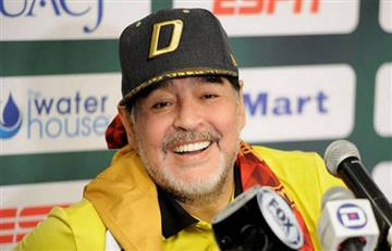 Maradona pide la copa para Boca