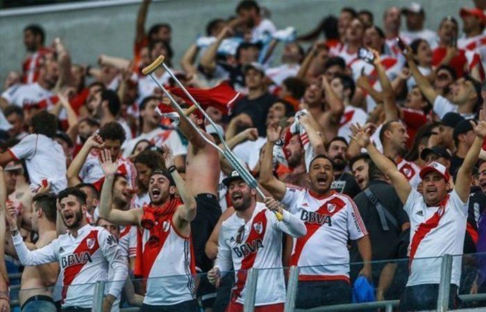 Hinchas de River Plate. Foto: Twitter