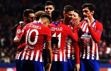 Atlético de Madrid avanza en la Champions
