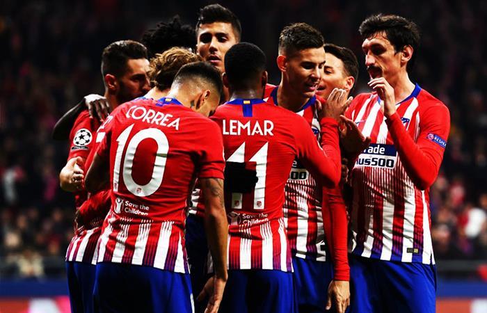 Atlético de Madrid venció 2-0 al Mónaco. Foto: Twitter