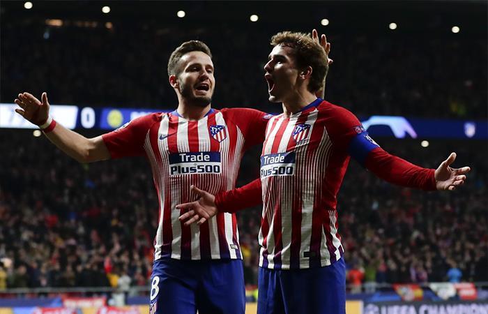 Atlético de Madrid vs Mónaco. Foto: Twitter