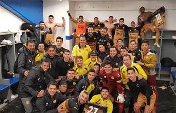 Maradona y los Dorados en la final