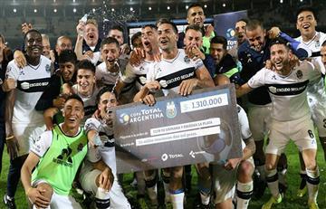 Gimnasia es el segundo finalista de la Copa Argentina