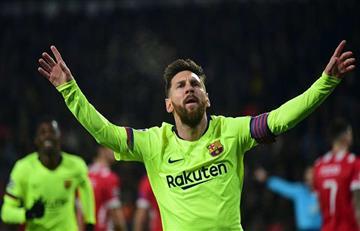 Messi goleador en la Champions