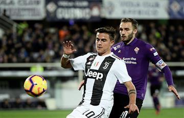 Paulo Dybala fue titular en la victoria de Juventus