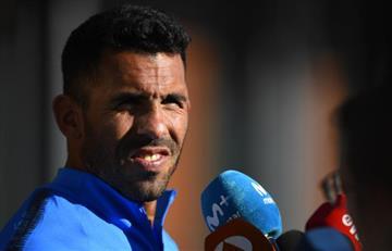"""Carlos Tévez: """"Jugar un Boca - River en Madrid es algo raro"""""""