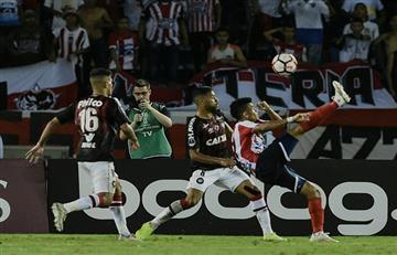 Junior y Paranaense igualaron en la ida de la Final de la Sudamericana
