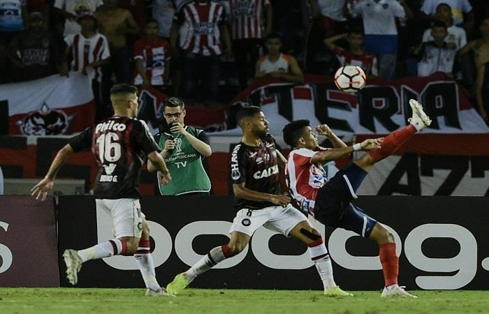 Copa Sudamericana: Junior y Atlético Paranaense igualaron la ida de la Final