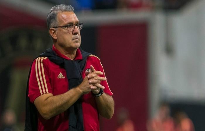 El Tata Martino dirigirá su último partido en el Atlanta United en la final de la MLS Cup ante Portland Timbers. Foto: AFP