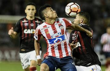 Paranaense y Junior van por la gloria en la Sudamericana