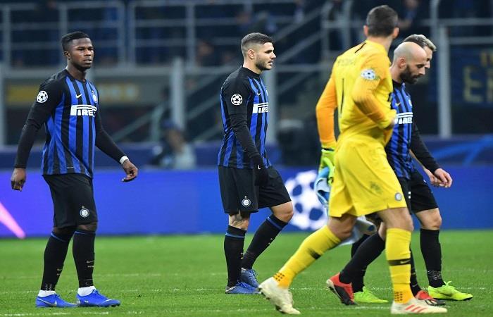 El Inter igualó con el PSV y quedó eliminado