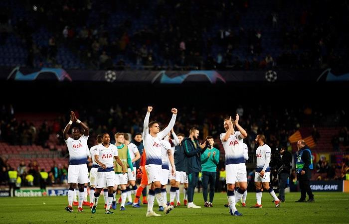 El Tottenham se clasificó gracias al empate del Inter. Foto: EFE