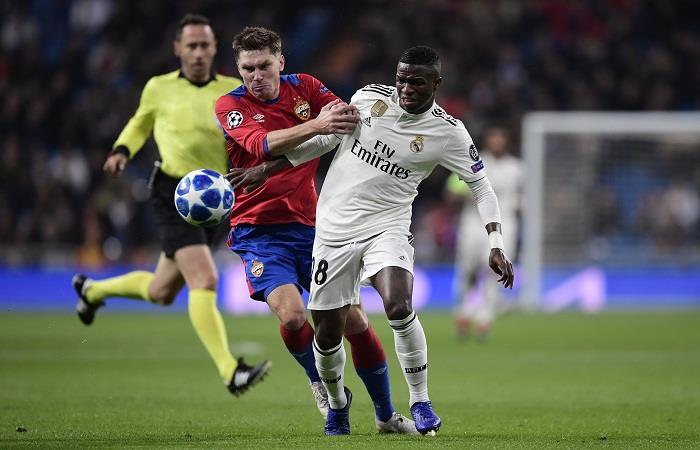 Real Madrid busca acabar como puntero de su Grupo ante el CSKA. Foto: AFP