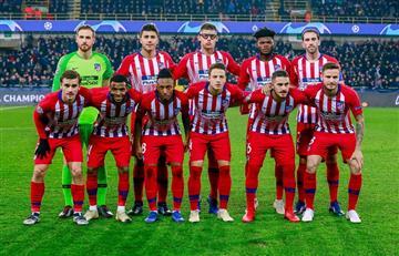 El Atlético Madrid se clasificó a octavos de final